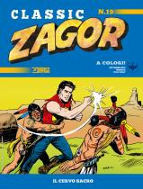Il cervo sacro - Zagor Classic 19 cover
