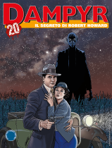 Il segreto di Robert Howard - Dampyr 247 cover