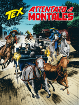 Attentato a Montales - Tex 721 cover