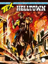Helltown - Tex Nuova Ristampa 464 cover