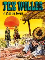 El Paso del Norte - Tex Willer 26 cover