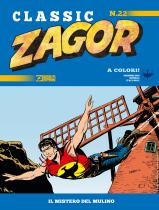 Il mistero del mulino - Zagor Classic 22 cover