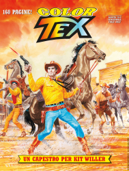 Un capestro per Kit Willer! - Color Tex 15 cover