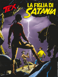 La figlia di Satania - Tex 707 cover