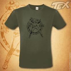 Tex t-shirt Ranger - Green