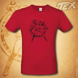 Tex t-shirt Ranger - Red
