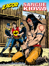 Sangue Kiowa - Zagor 654 cover