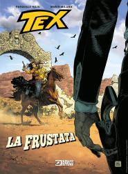 La frustata - Tex Romanzi a fumetti 11 cover