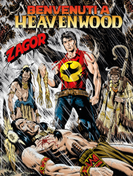 Benvenuti a Heavenwood - Zagor 665 cover