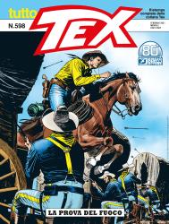 La prova del fuoco - Tutto Tex 598 cover