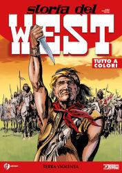Terra violenta - Storia del West 23 cover