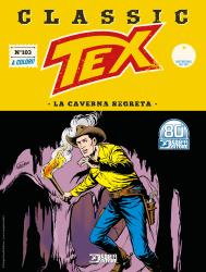 La caverna segreta - Tex Classic 103 cover