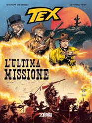 L'ultima missione - Tex Romanzi a fumetti 12 cover