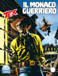 Il monaco guerriero - Tex 725 cover