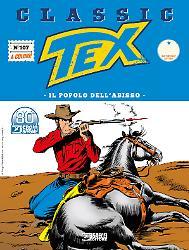 Il popolo dell'abisso - Tex Classic 107 cover