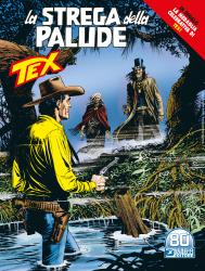 La strega della palude - Tex 727 cover