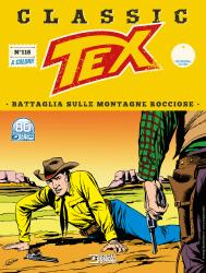 Battaglia sulle montagne rocciose - Tex Classic 118 cover